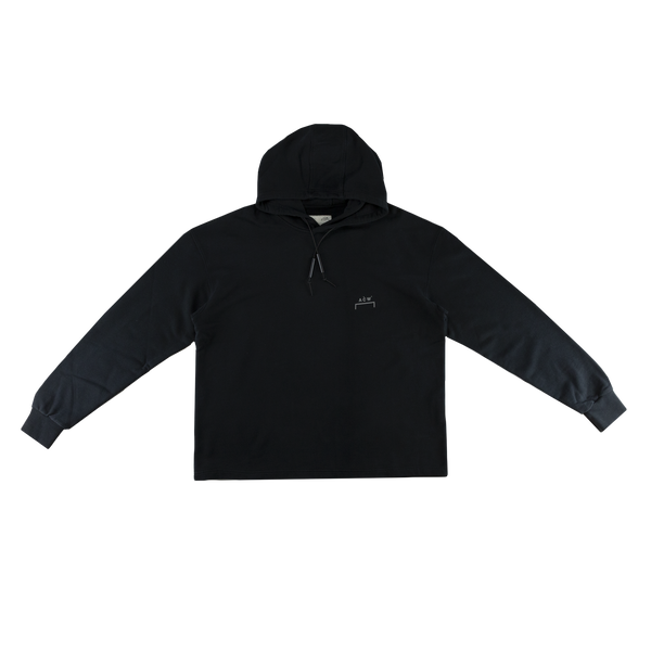 A-COLD-WALL* Basic Hoodie in Black  Style: CW9SMF04AC86999