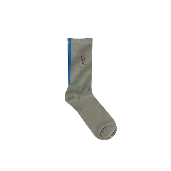 A-COLD-WALL* Logo Socks [Grey]