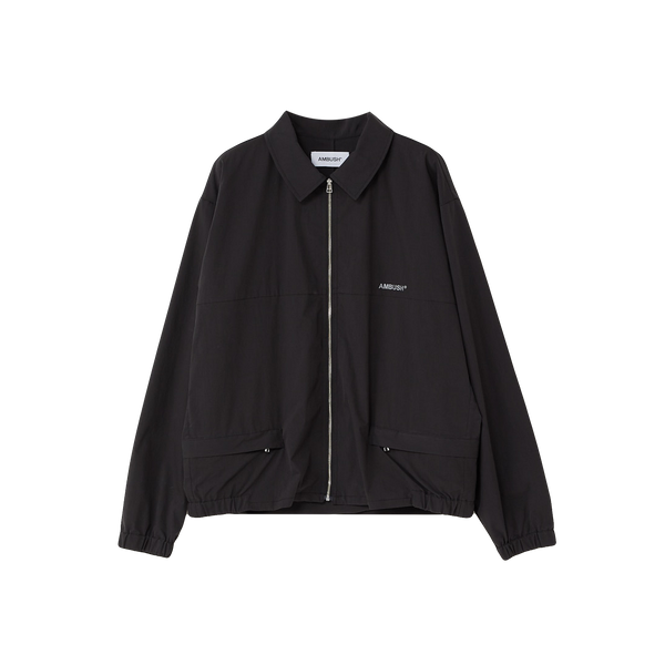 AMBUSH Zip Up Coach Jacket 'Black'