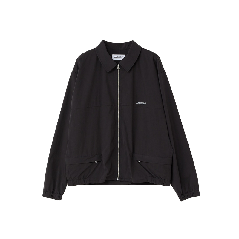 AMBUSH Zip Up Coach Jacket [Black]