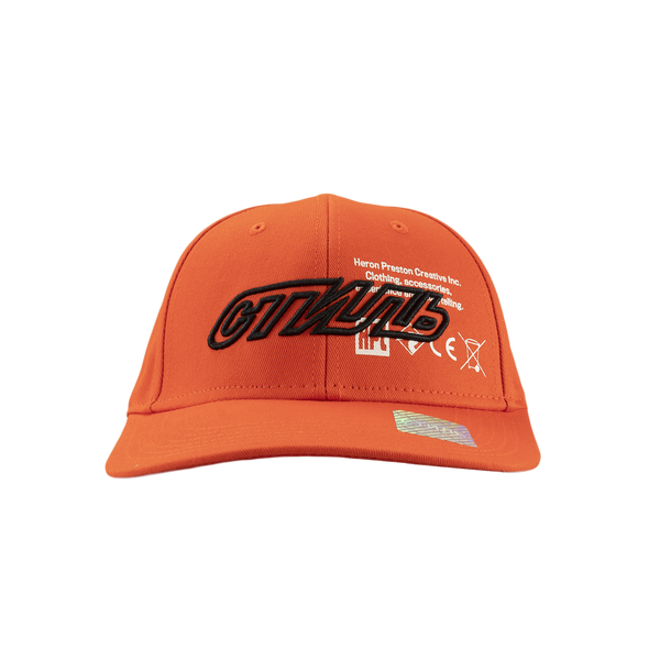 Heron Preston CTNMB Baseball Cap in Orange  Style: HMLB001S19766066