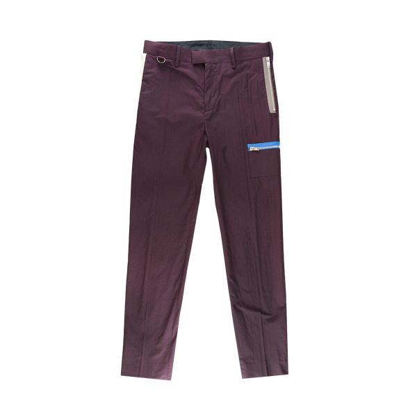 Undercover Zip Trouser in Bordeaux  Style: UCW4513-1