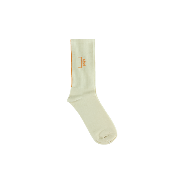 A-COLD-WALL* Logo Socks [Bone]