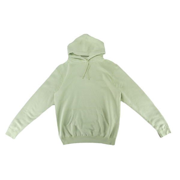 John Elliott Vintage Fleece Hoodie in Mint Green  Style: B107D52278A