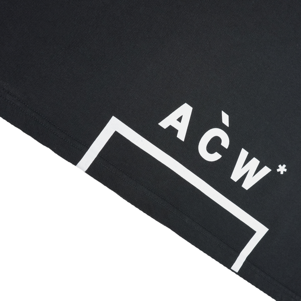 DRAW TEST:A-COLD-WALL* Logo Hoodie [Black]
