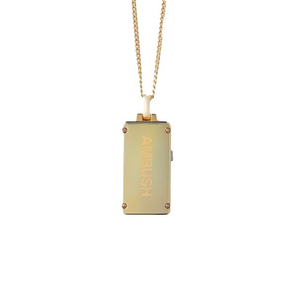 AMBUSH USB Necklace 'Gold'