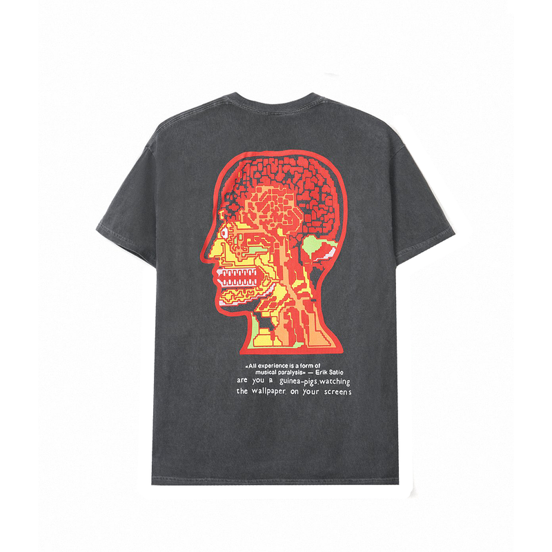 Brain Dead Heatwave S/S T-Shirt [Washed Black]