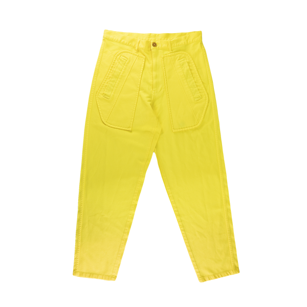 Comme Des Garcons SHIRT Woven Trousers [Yellow]