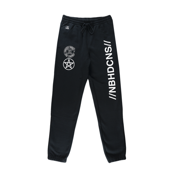 Converse x Neighborhood Sweatpants [Black]
