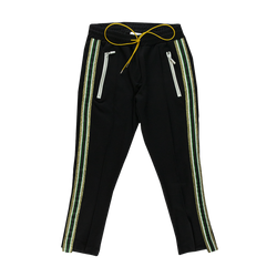 Rhude Traxedo Pant in Black/Green  Style: 02APA05006