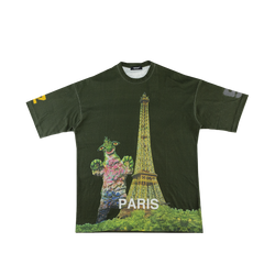 Undercover Monster Oversized T-Shirt 'Paris' in Khaki  Style: UCW4816-A