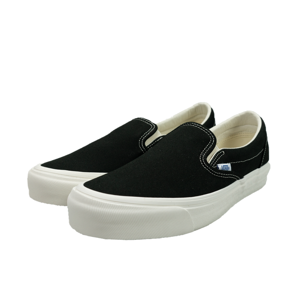 Vans Vault OG Classic Slip-On 'Black Canvas' [VN000UDF3SY]