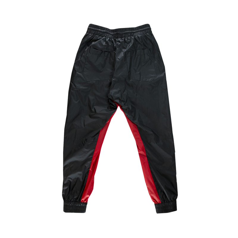 Rhude Nylon Pants [Black/Red]