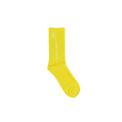 A-COLD-WALL* Design Socks [Yellow]