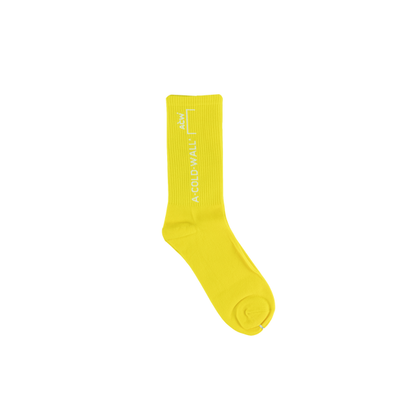 A Cold Wall Design Socks [Yellow]