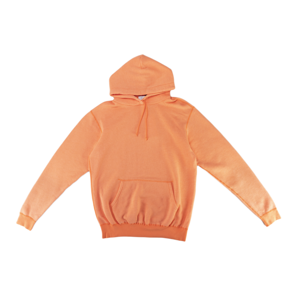 John Elliott Vintage Fleece Hoodie in Orange  Style: B107D52114A
