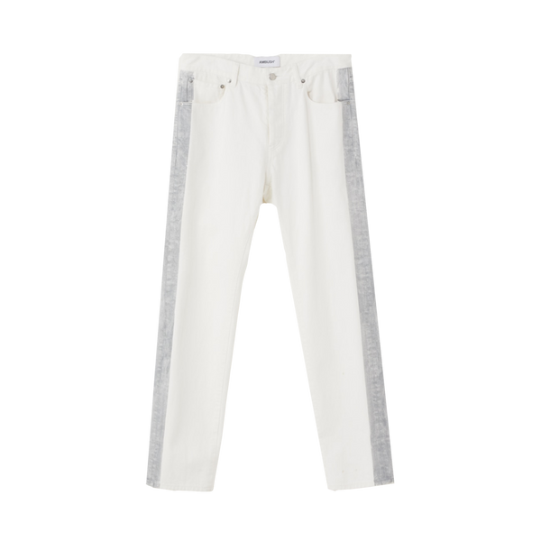 AMBUSH Reflective Paint Denim 'White'