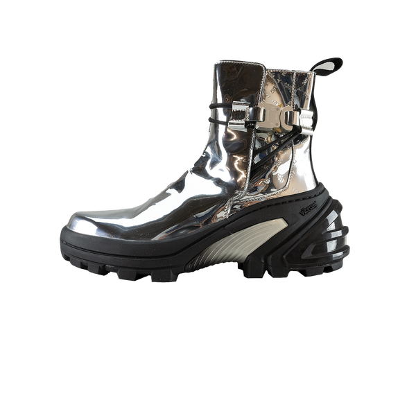 1017 ALYX 9SM Low Buckle Boot With Fixed Sole 'Silver' [AAUBO0009LE02]