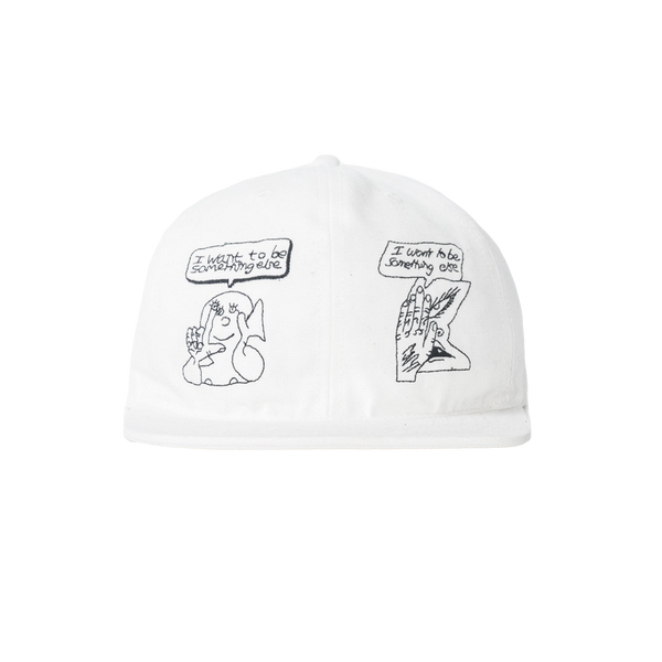 Brain Dead Leon Sadler Hat [White]
