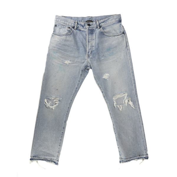 John Elliott The Kane 2 Denim in Lassen  Style: G215E6149L