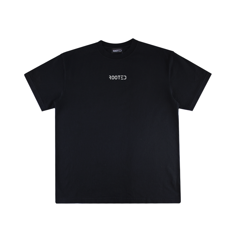ROOTED Foundation S/S Tee [Black]