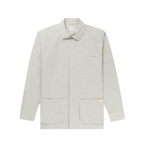 Aime Leon Dore Cotton Poplin Painters Jacket [White/Teal]