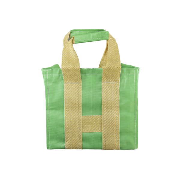 COMME des GARÇONS SHIRT Large Tote in Green/Yellow  Style: S27612