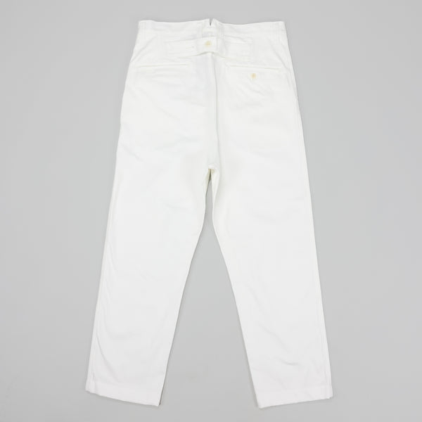 Junya Watanabe MAN Cotton Twill Trouser [White]
