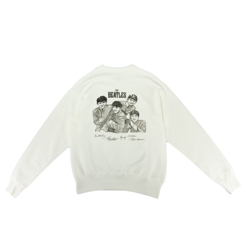 Human Made Beatles Sweatshirt [White]