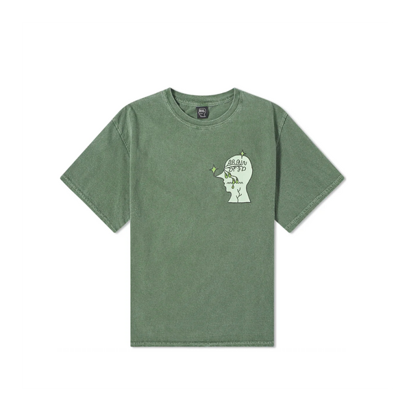 Brain Dead Graffiti Letter Tee [Green]