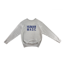 Human Made Training Sweatshirt in Grey  Style: HM17CS004