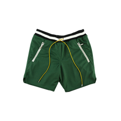 Rhude Basketball Shorts in Green  Style: 03ASR03101