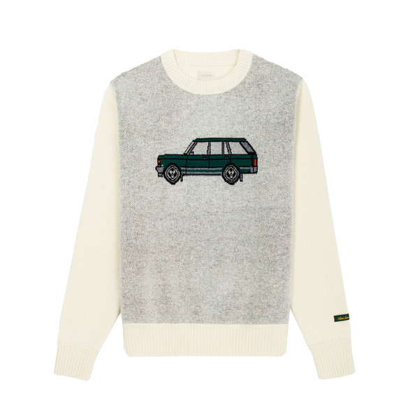 Aime Leon Dore Car Knit Sweater [Parmesan]