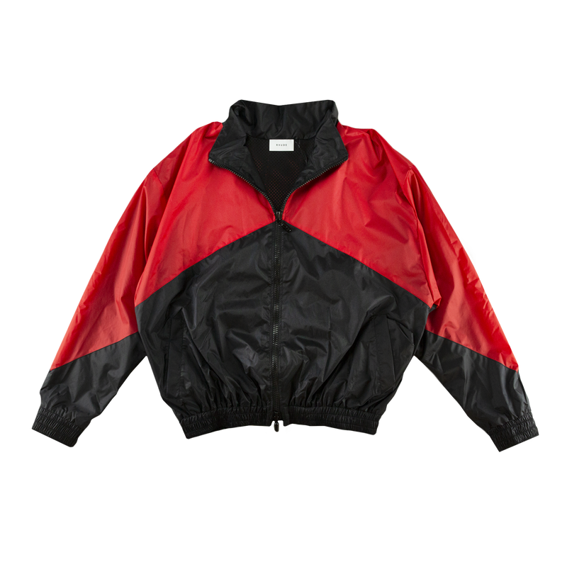 Rhude Flight Jacket in Black/Red  Style: 02AJA05706