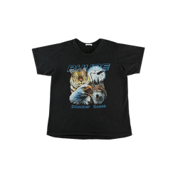 Rhude Animal T-Shirt in Black  Style: 03ATT01701