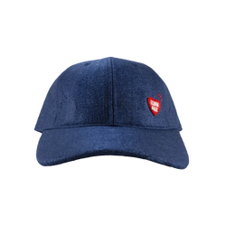 Human Made Felt Cap in Navy  Style: HM17GD007N