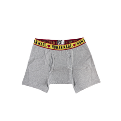 Human Made Boxer Briefs in Grey  Style: HM17GD012