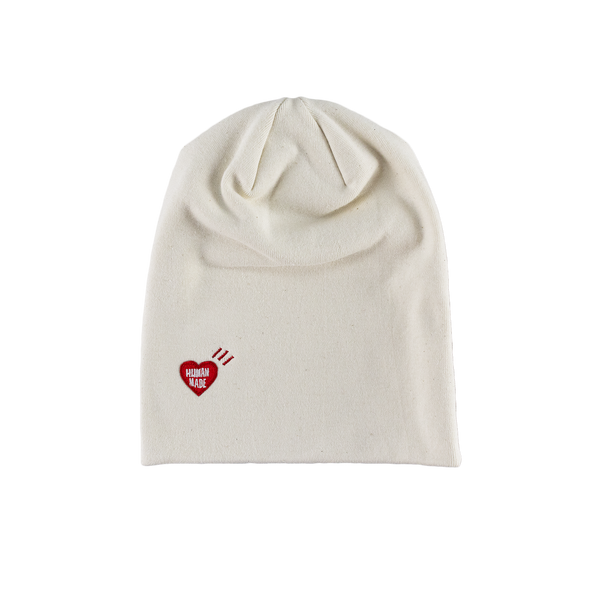 Human Made Beanie in White  Style: HM17GD005W