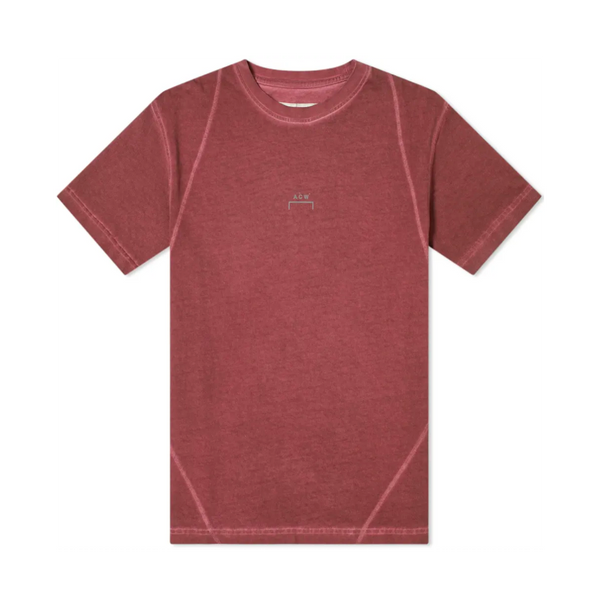 A-COLD-WALL* Overlock T-Shirt [Maroon]