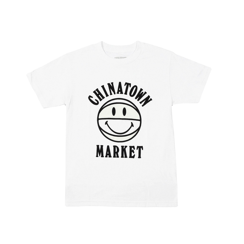 Chinatown Market UV Smiley T-Shirt [White]