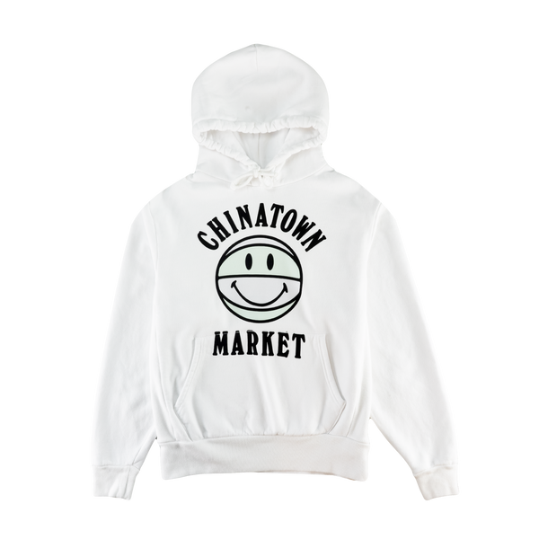 Chinatown Market UV Smiley Hoodie [White]