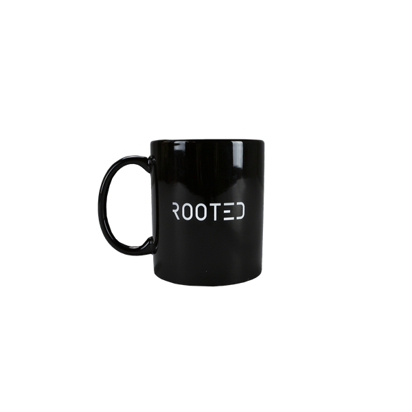 ROOTED Coffee Mug in Black