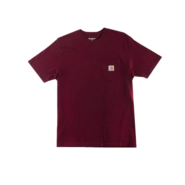 Carhartt WIP S/S Pocket T-Shirt [Cranberry]