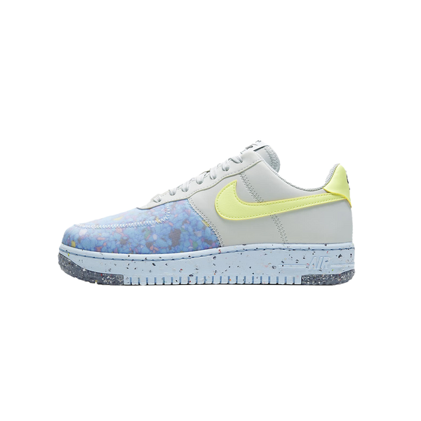 Women's Nike Air Force 1 Crater 'Pure Platinum/Barely Volt' [CT1986-001]