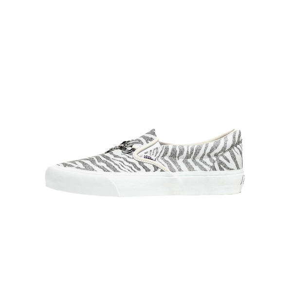 Vans x Needles Classic Slip-On 'White/Zebra/Leopard' [VN0A3QXY2GT]