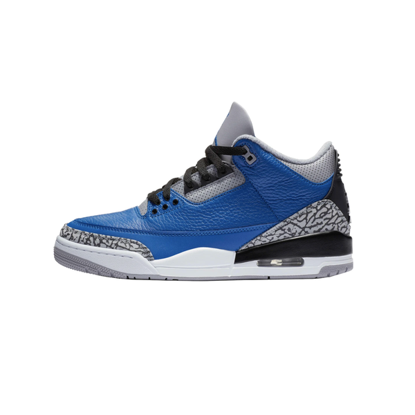 Air Jordan 3 Retro 'Varsity Royal/Cement Grey' [CT8532-400]