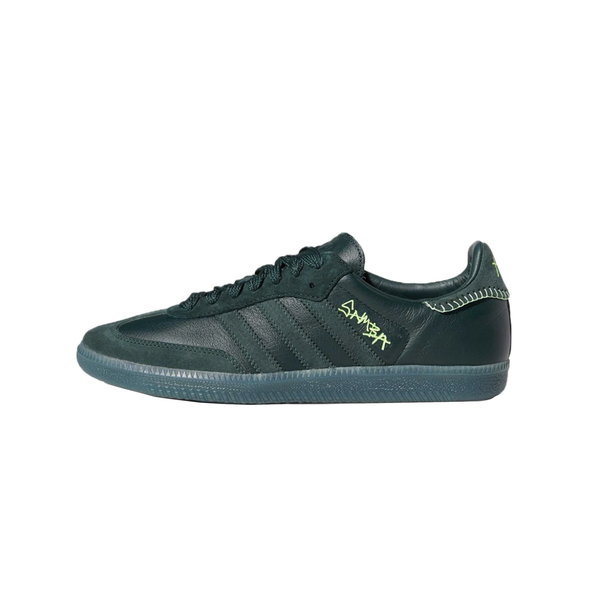 Adidas x Jonah Hill Samba 'Green Night' [FW7458]