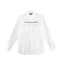 Undercover A Clockwork Orange Button Up [White]