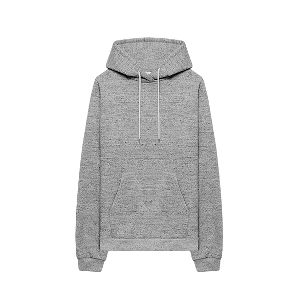 John Elliott Speckled Fleece Hoodie [Grey]