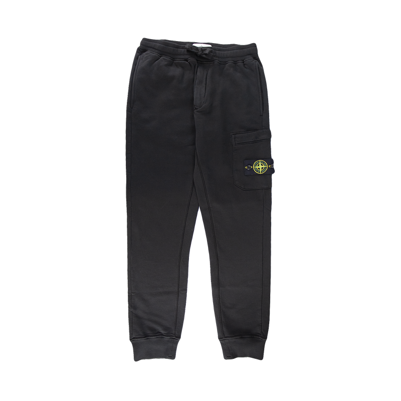 Stone Island Fleece Pants [Black]